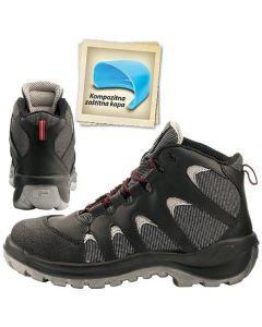 BRAVO S3 SRC - zaštitne cipele sportskog dizajna sa zaštitnom kapom i nemetalnim listom