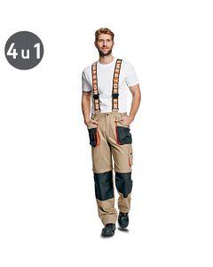 Emerton Summer - letnje radne pantalone 4u1 za opštu upotrebu