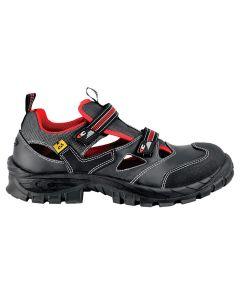 GUTTORM S1P ESD SRC - zaštitne ESD  sandale sa nemetalnom zaštitnom kapom i listom