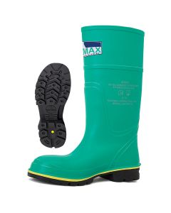 Hazmax S5 HRO SRA CI FO - čizme koje štite od hemikalija ,sa čeličnom kapom i čeličnim zaštitnim listom.