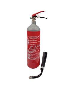 Protivpožarni aparat CO2-2 kg (sa urađenim nultim servisom)