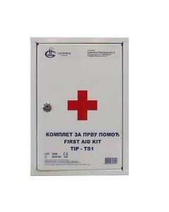 Ormarić prve pomoći tip TS1, pun