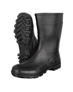 Tronchetto crne - kratke radne pvc čizme za opštu upotrebu